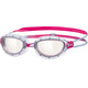 Zoggs Predator Goggle Women Silver/Pink/Clear